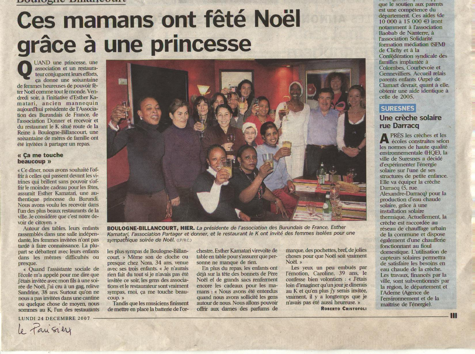 LE PARISIEN 2007 COPYRIGHT